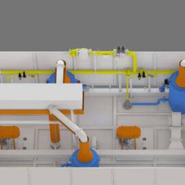 Doğal Gaz veya Elektrik Isıtmalı Pişirme Fırınları Tünel Tipi