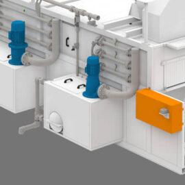 Doğal Gaz veya Elektrik Isıtmalı Tünel Yağ Alma ve Yıkama Makineleri